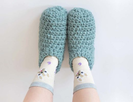 Como tejer pantuflas a crochet paso a paso patron