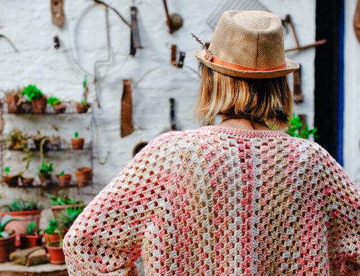 Taller kimono a crochet Marina Torreblanca