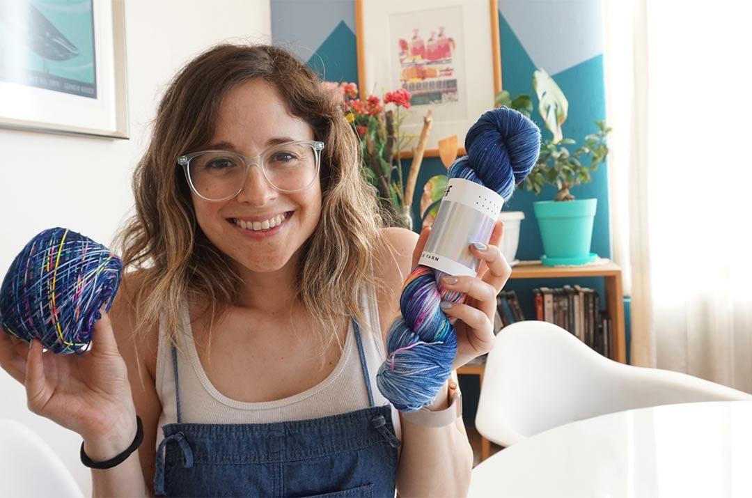 Knit tan Seria, nuevo video log de tejido